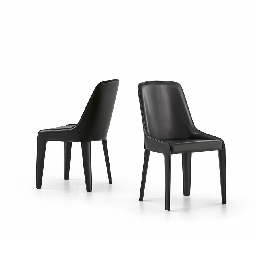 Bonaldo Lamina Chairs, Black