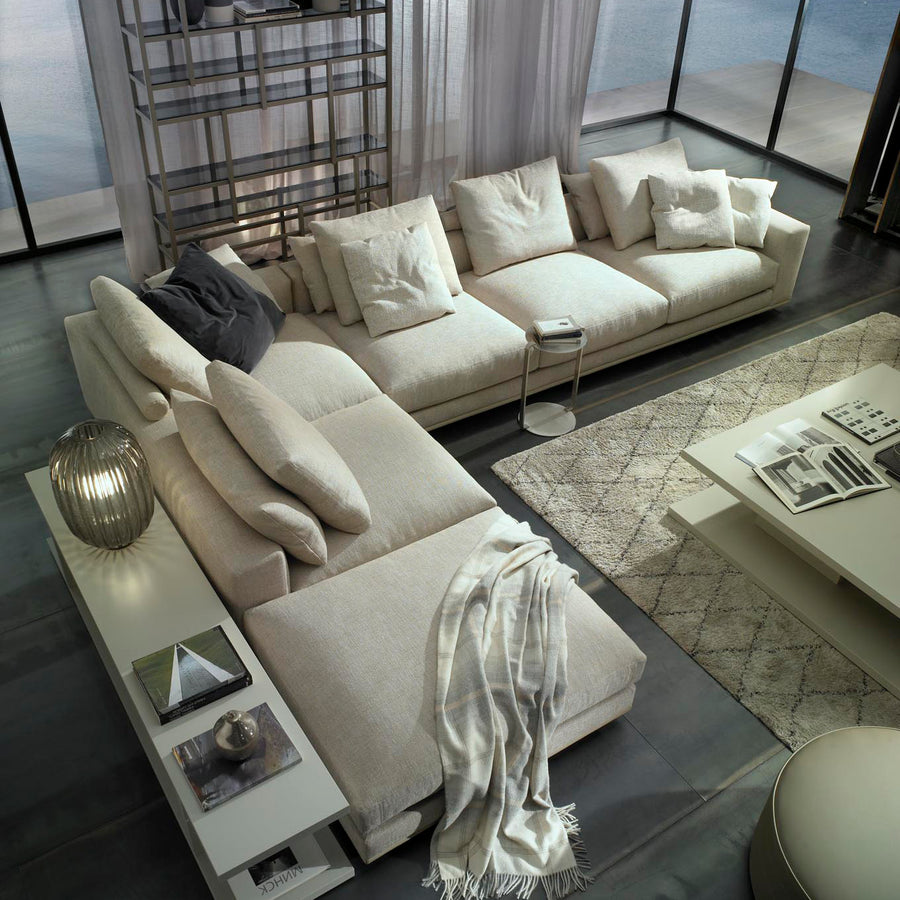 Casadesus Mauro, Modern Sectional Sofa, ambient - made in Spain - Spencer Interiors