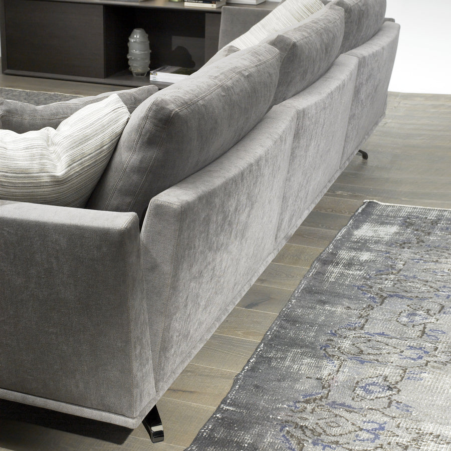 Casadesus Shelby Sofa, back detail, made in Spain - Spencer Interiors