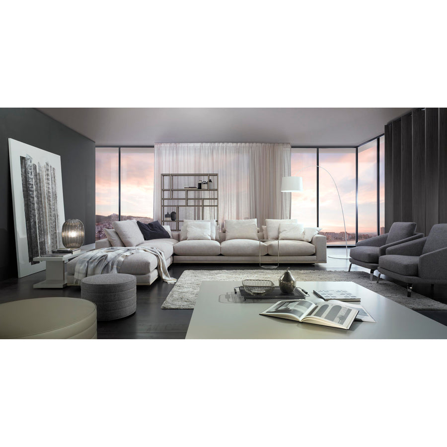 Casadesus Mauro, Modern Sectional Sofa, ambient 3 - made in Spain - Spencer Interiors