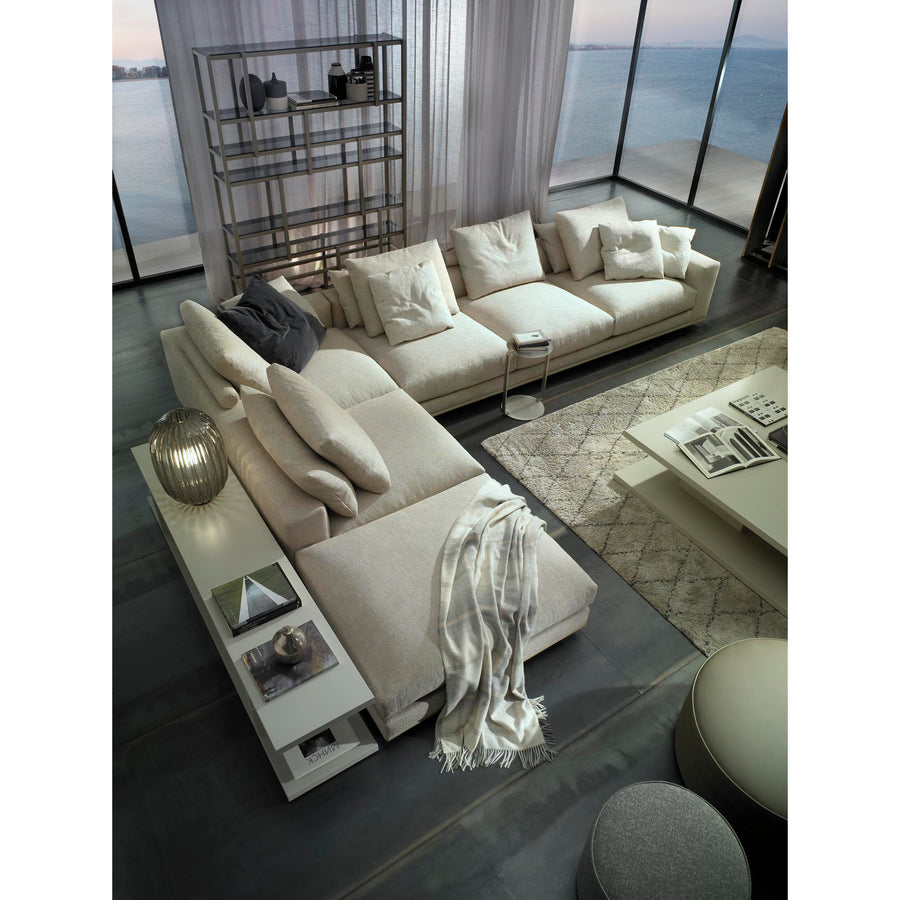 Casadesus Mauro, Modern Sectional Sofa, ambient 6 - made in Spain - Spencer Interiors