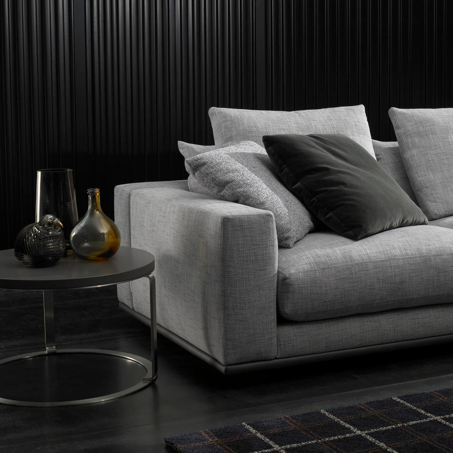 Casadesus Mauro, Modern Sectional Sofa, ambient arm detail - made in Spain - Spencer Interiors