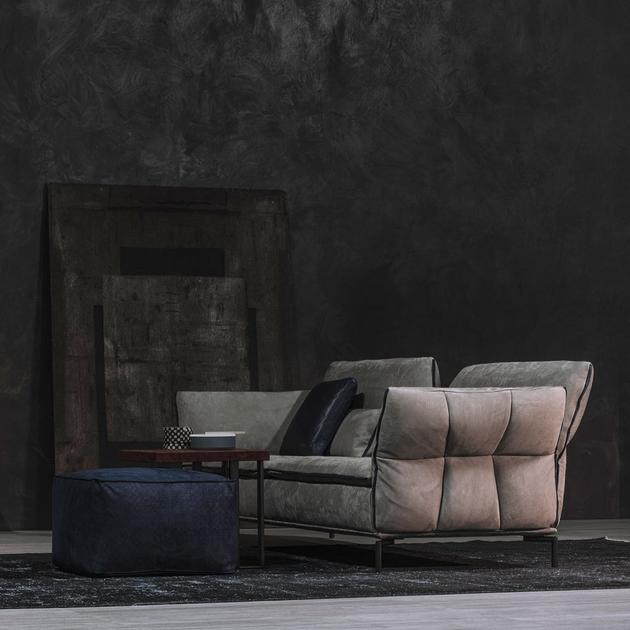 Cierre Simply Sofa in Leather 4 - made in Italy