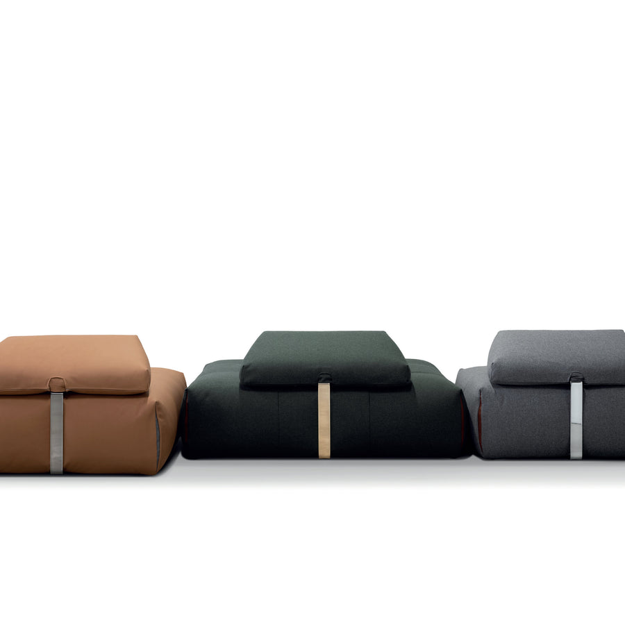 Cierre Italy, Tab Modular Seating, back view, Spencer Interiors