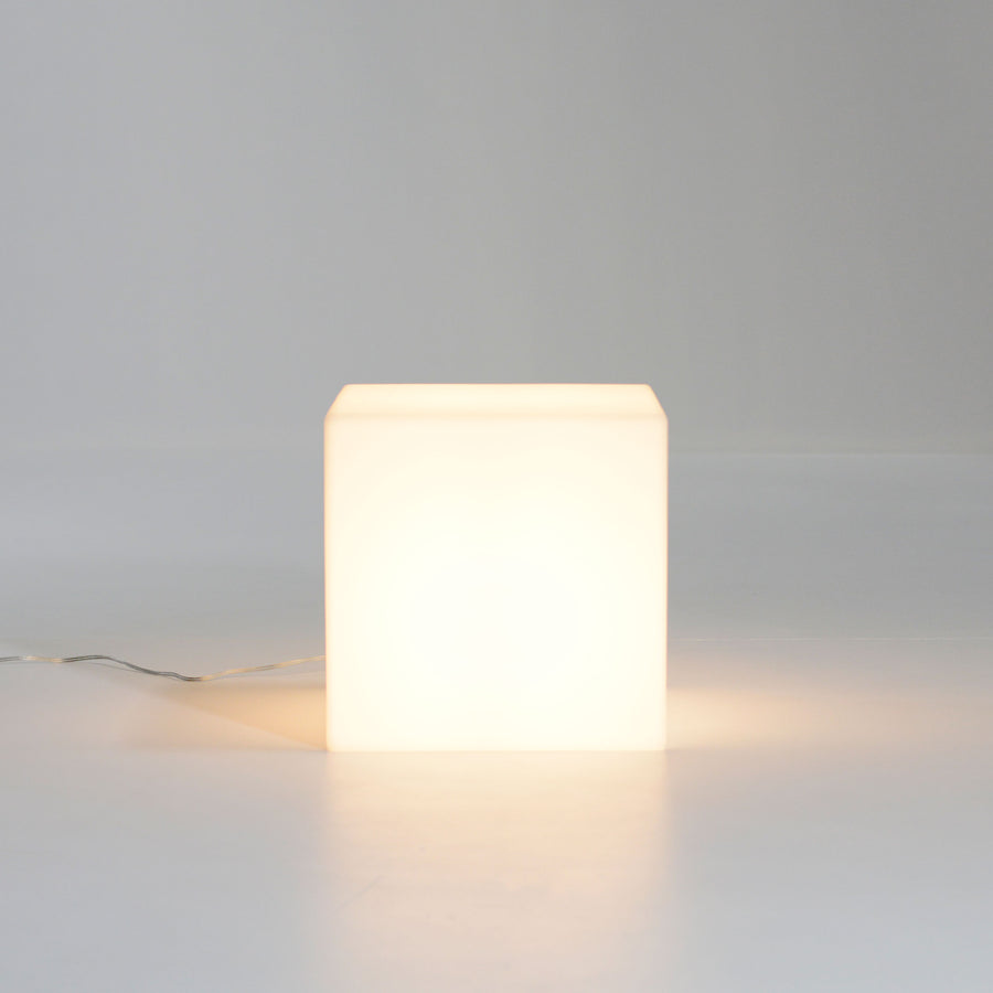 Cubo Illuminato - indoor light cube, made in Italy