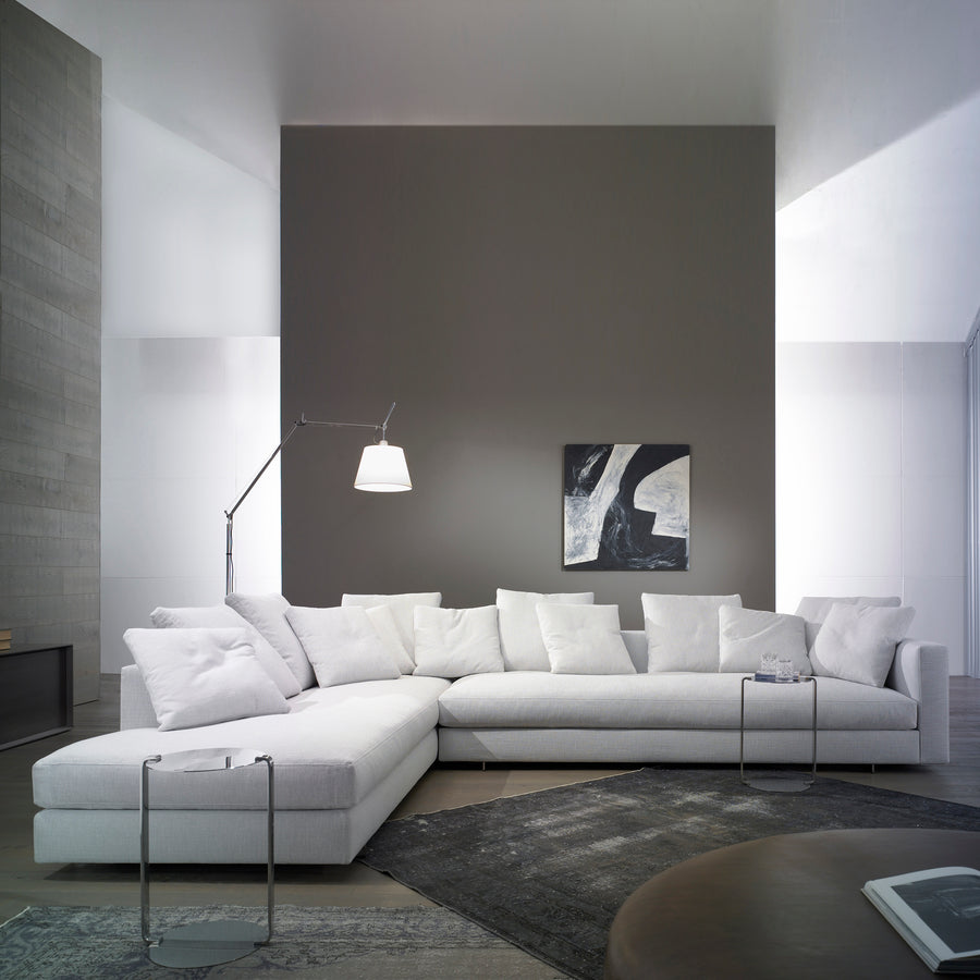 Casadesus Alex Sofa Sectional, a Modern Classic, made in Spain, front | Spencer Interiors