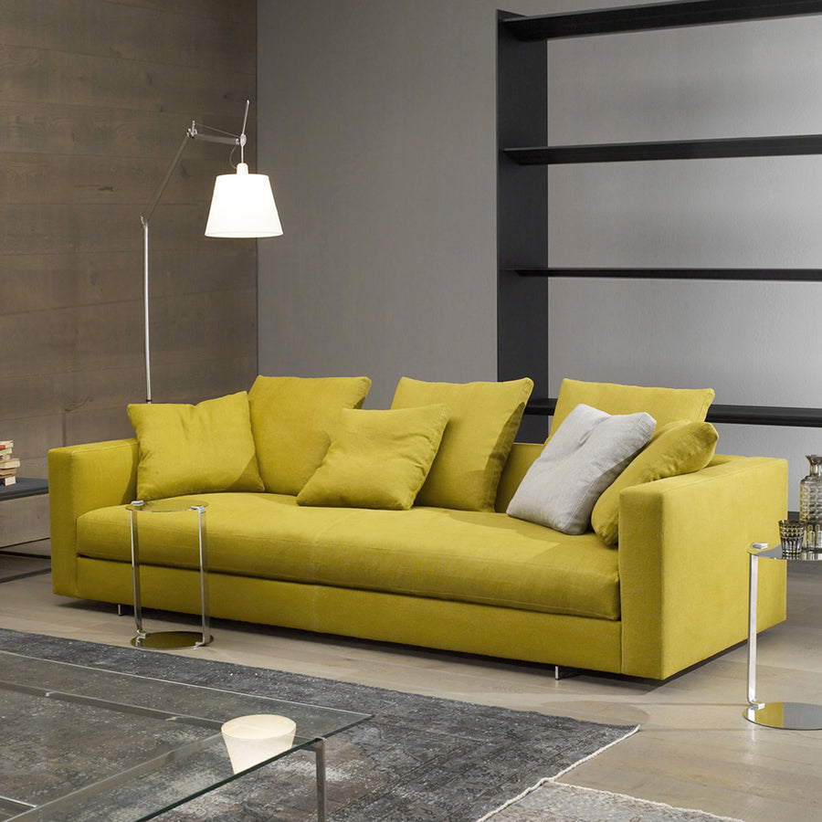 Casadesus Alex Sofa - Classic Modern, Made in Spain, front turned | Spencer Interiors