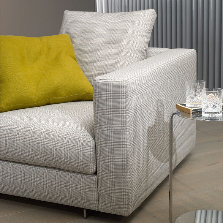 Casadesus Classic Modern Alex Armchair, arm detail | Spencer Interiors