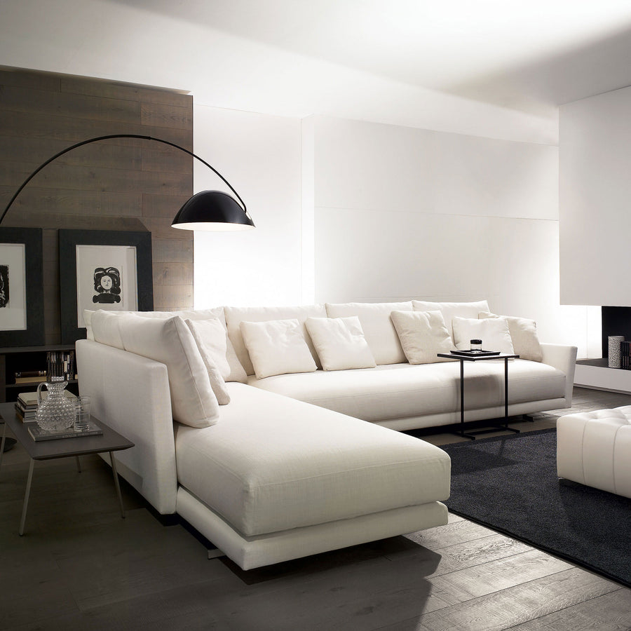 Casadesus Angelo, Modern Sofa Sectional - made in Spain, ambient 4, White | Spencer Interiors