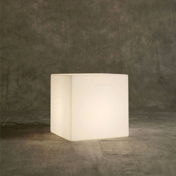 Cubo Modern Light Cube, made in italy, © Spencer Interiors Inc.