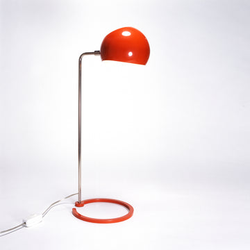 David Weeks Studio, Boi Desk Lamp, Orange Gloss
