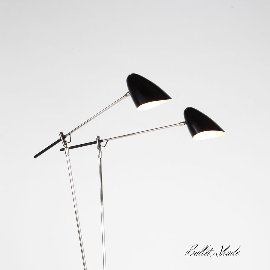 Double Pod Standing Lamp