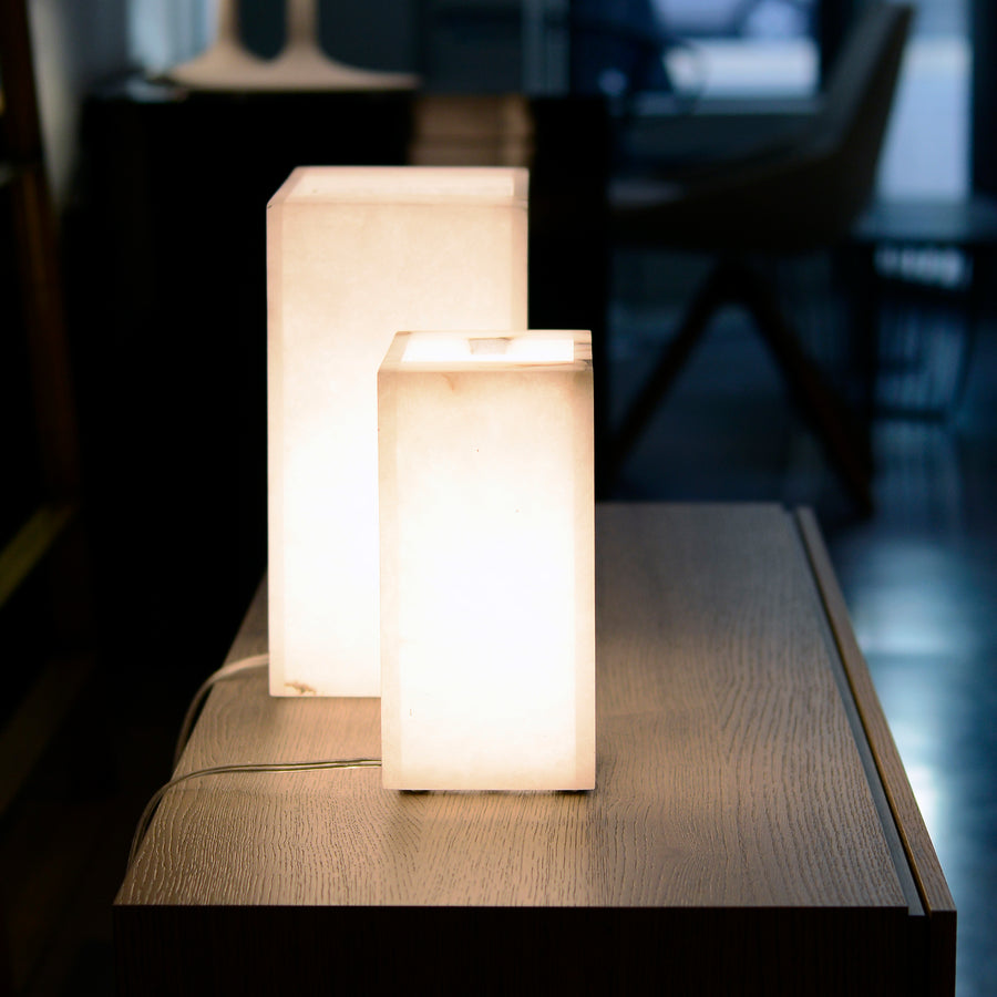 Dema Alabaster Table Lamps, ambient 3 - made in Tuscany