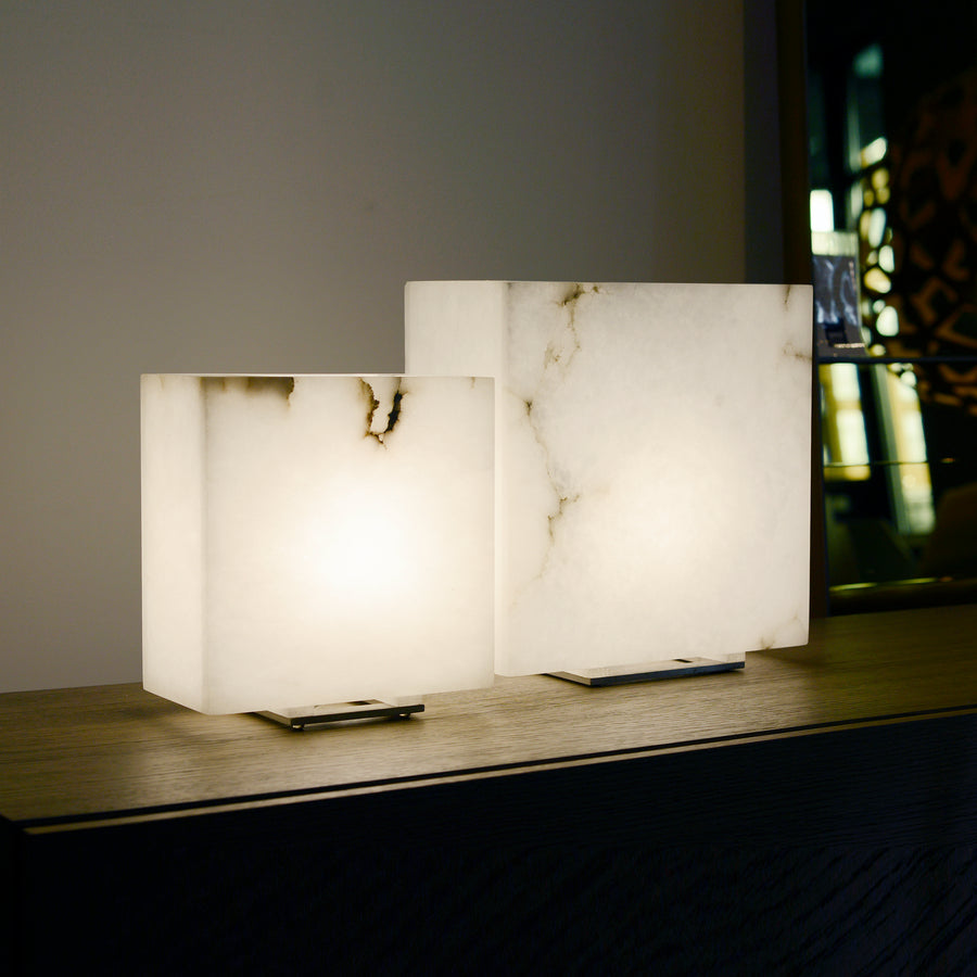 Dema Alabaster Table Lamps, ambient 2 - made in Tuscany