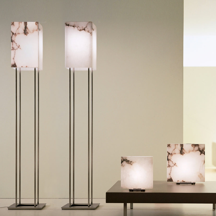 Dema Alabaster Table and Floor Lamps - made in Tuscany