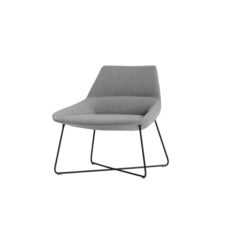 Inclass Dunas XL,  Low Back Rod Base Armchair