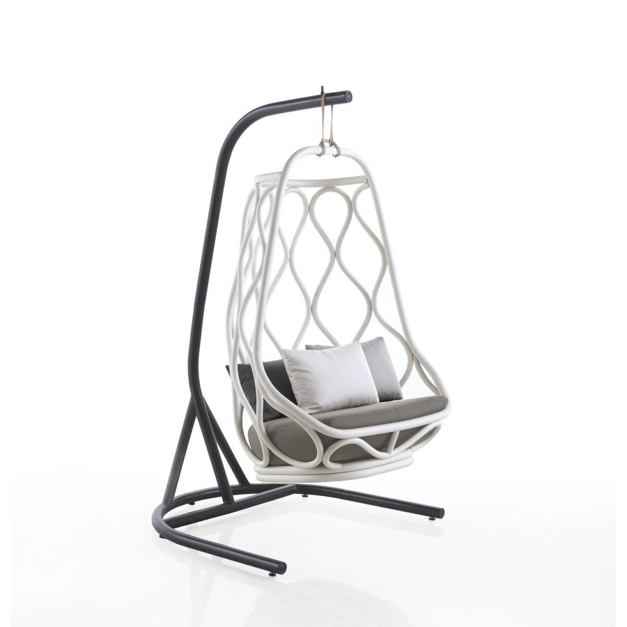 Nautica Outdoor Swing Chair With Base