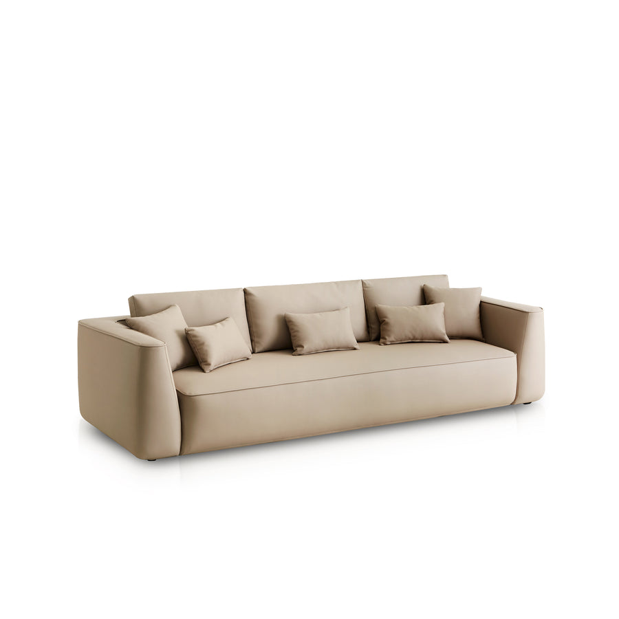 Expormim Plump Indoor Outdoor Sofa 290 cm, turned, made in Spain