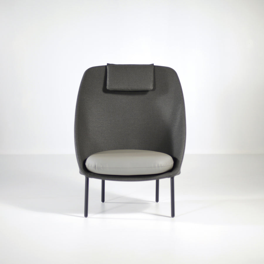 Twins High Armchair