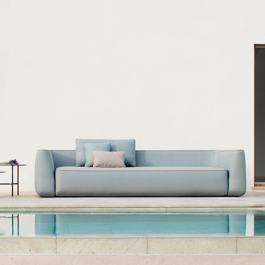 Expormim Plump Indoor Outdoor Sofa 290 cm, ambient, made in Spain