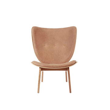 Norr11 Denmark, The Elephant Chair in Natural Oak, Camel Leather | Spencer Interiors