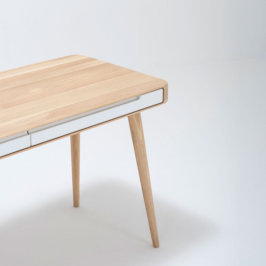 Gazzda Ena Desk in solid Oak 8