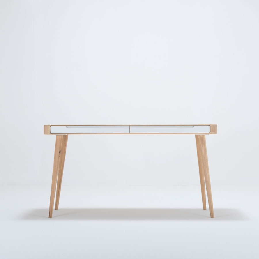 Gazzda Ena Desk in solid Oak 1