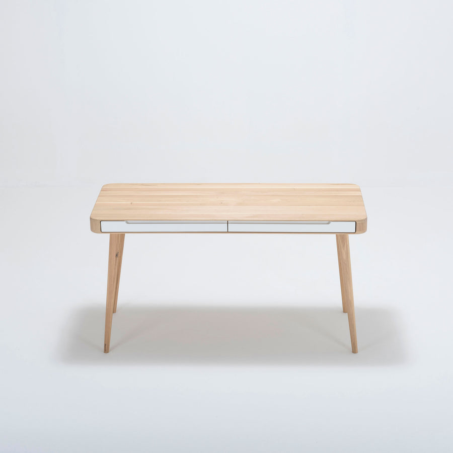 Gazzda Ena Desk in solid Oak 3