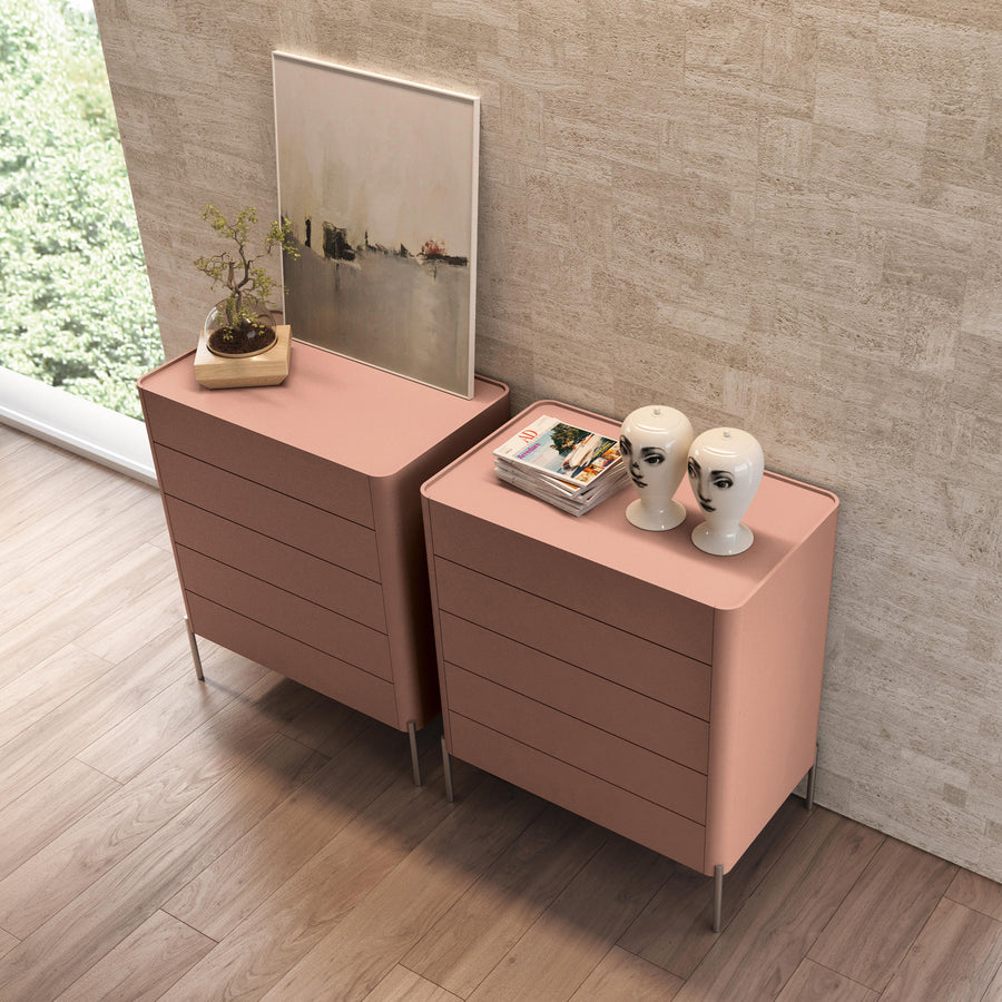 Estel, Dolly Cabinet with 5 Drawers, ambient 3