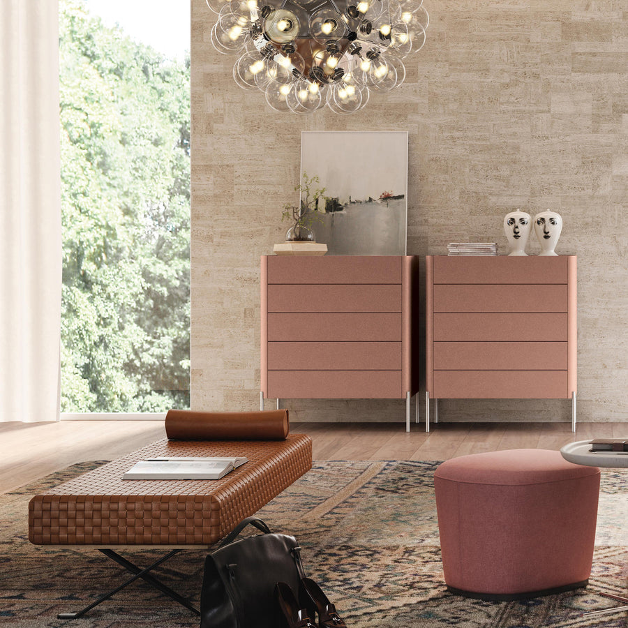 Estel, Dolly Cabinet with 5 Drawers, ambient