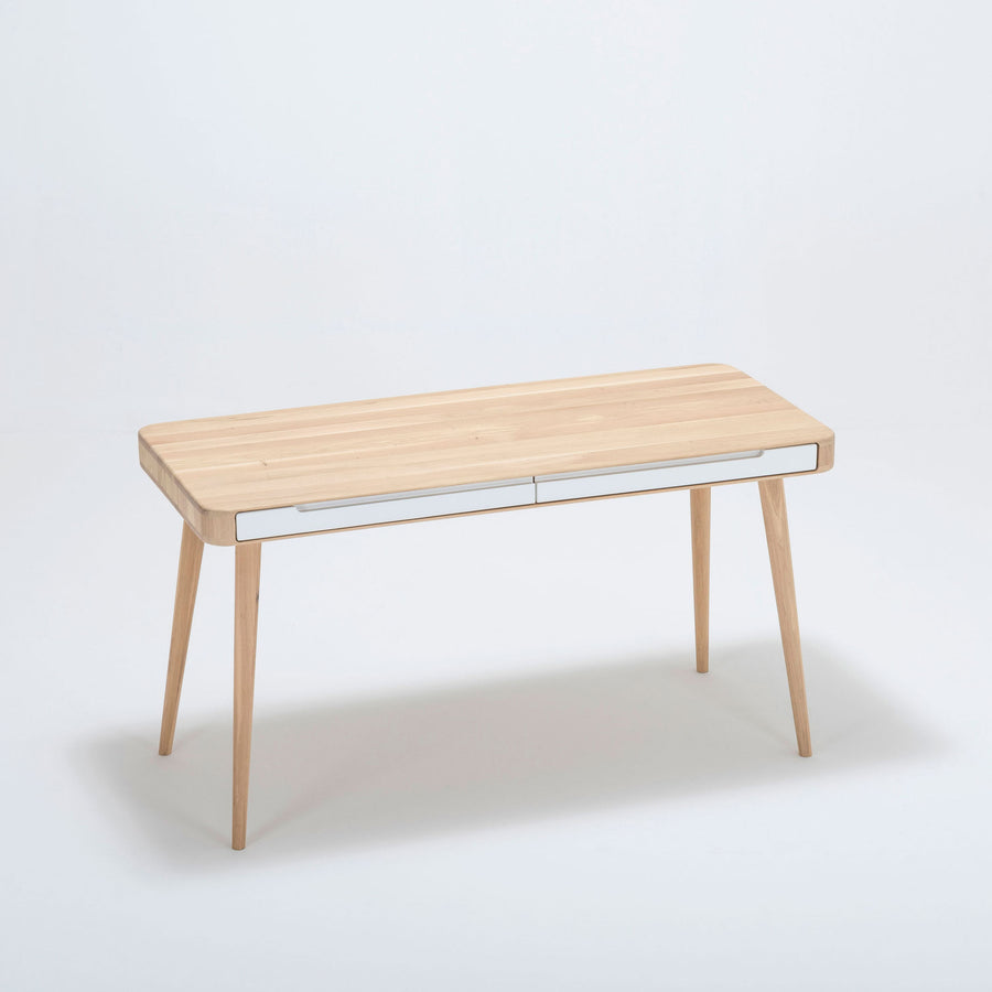 Gazzda Ena Desk in solid Oak 2
