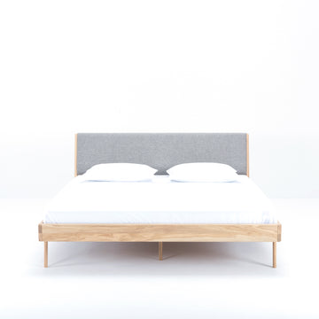 Gazzda Fawn Bed in Solid Oak, made in Europe