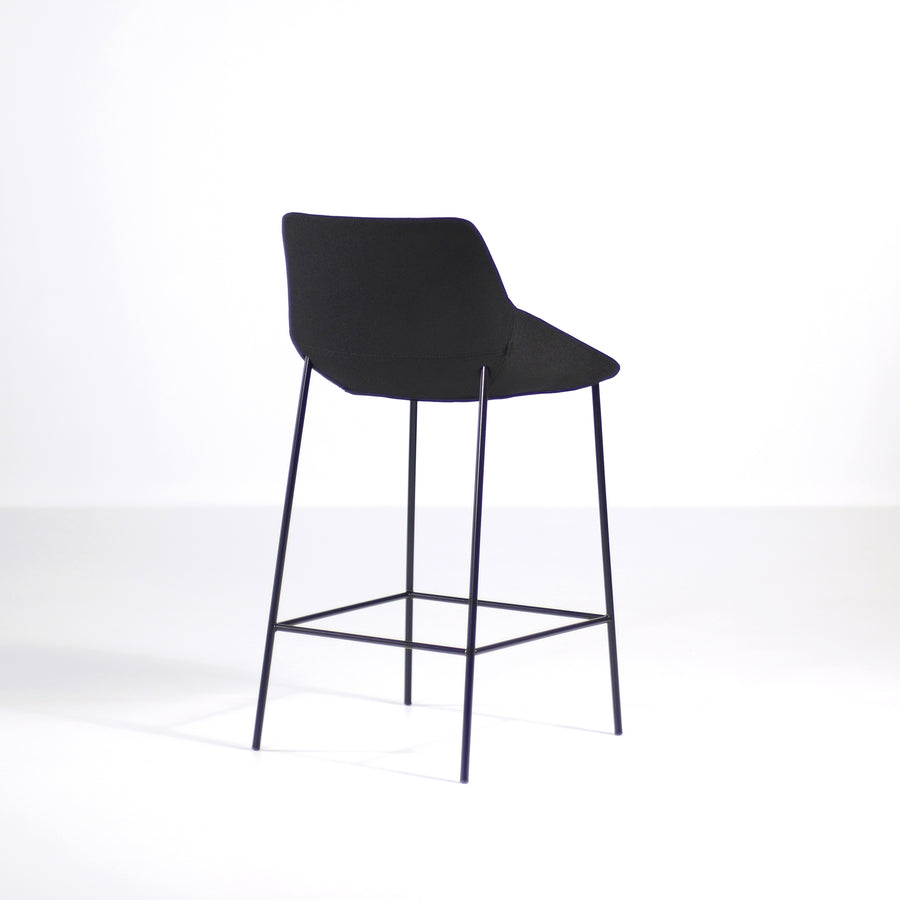 Inclass Dunas 4 Leg Stool, back, made in Spain, © Spencer Interiors Inc.