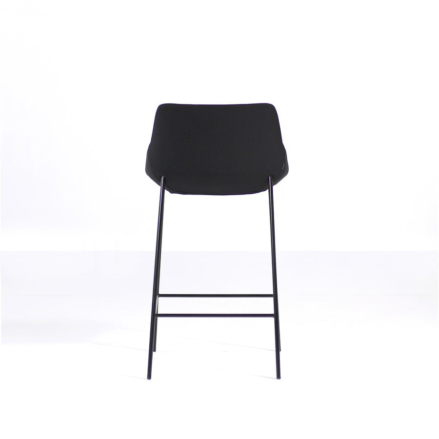 Inclass Dunas 4 Leg Stool, back 2, made in Spain, © Spencer Interiors Inc.