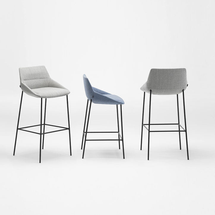 Inclass Dunas 4 Leg Stool group, made in Spain