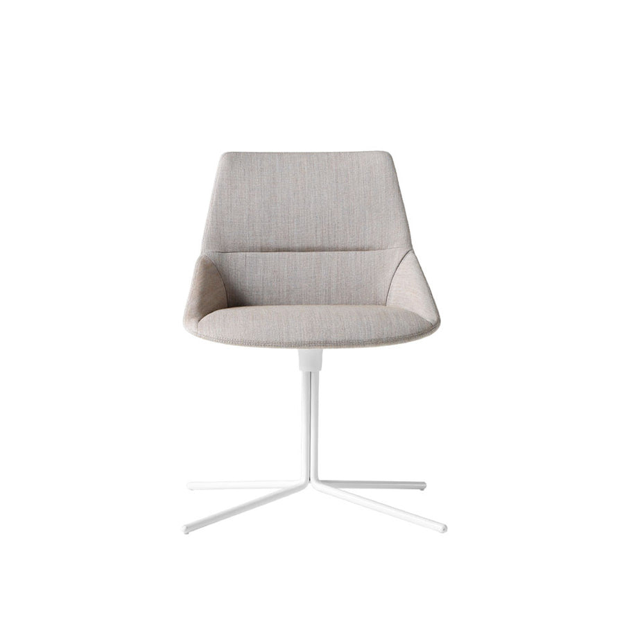 Inclass Dunas XS Swivel Chair, Four Star Flat Base
