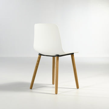 Inclass Varya Wooden Legs Chair - Made in Spain, © Spencer Interiors Inc.