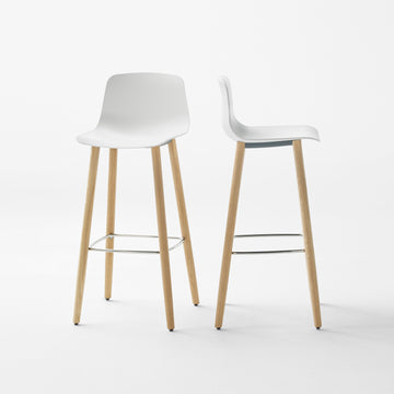 Inclass Varya Wooden Legs Stools - made in Spain