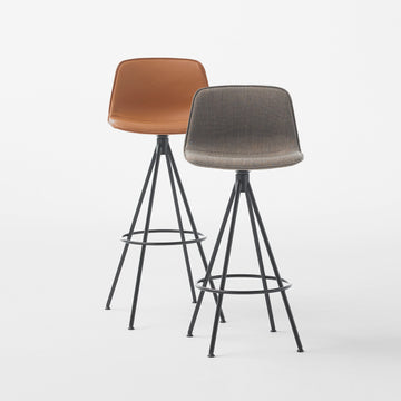 Varya Tapiz, 4 Spoke Swivel Stool