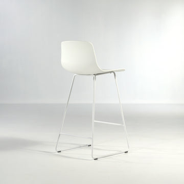 Inclass Varya Sled Base Stool, made in Spain, © Spencer Interiors Inc.