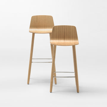 Inclass Varya Wood Stools - made in Spain