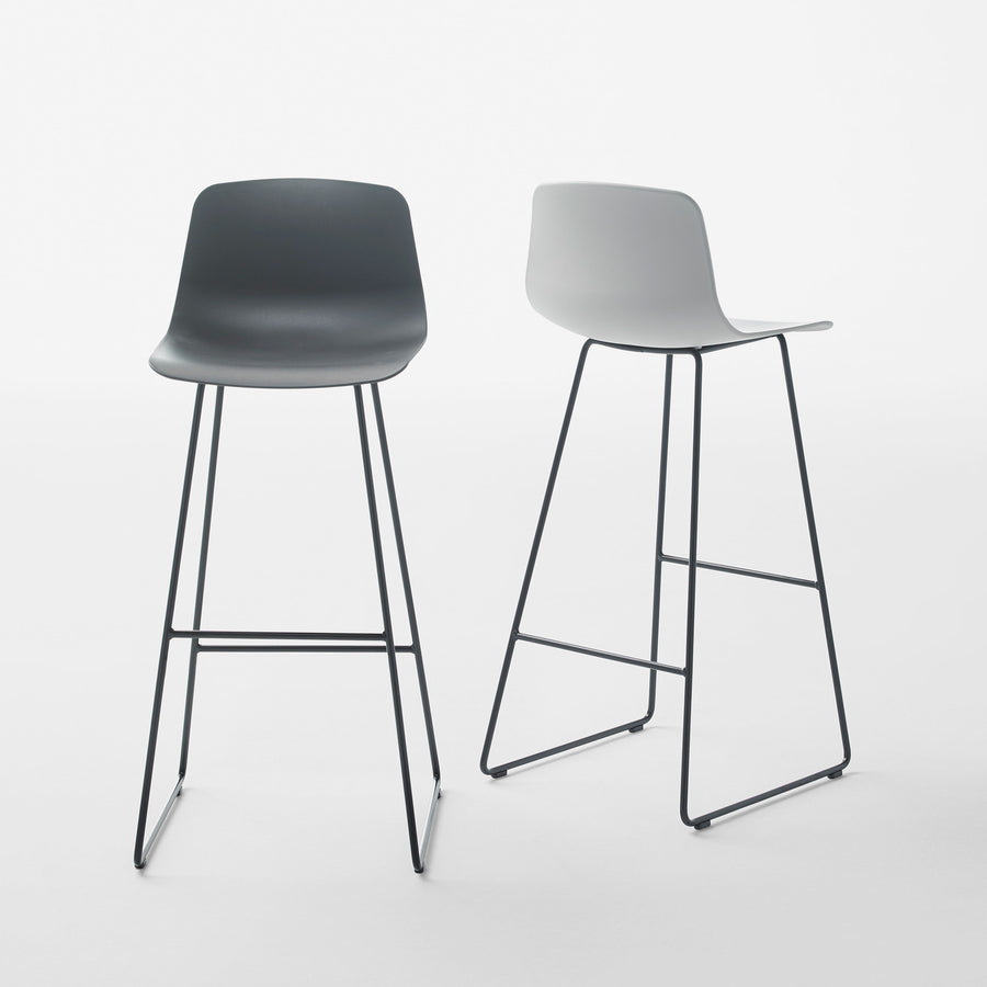 Inclass Varya Sled Base Stools 2, made in Spain