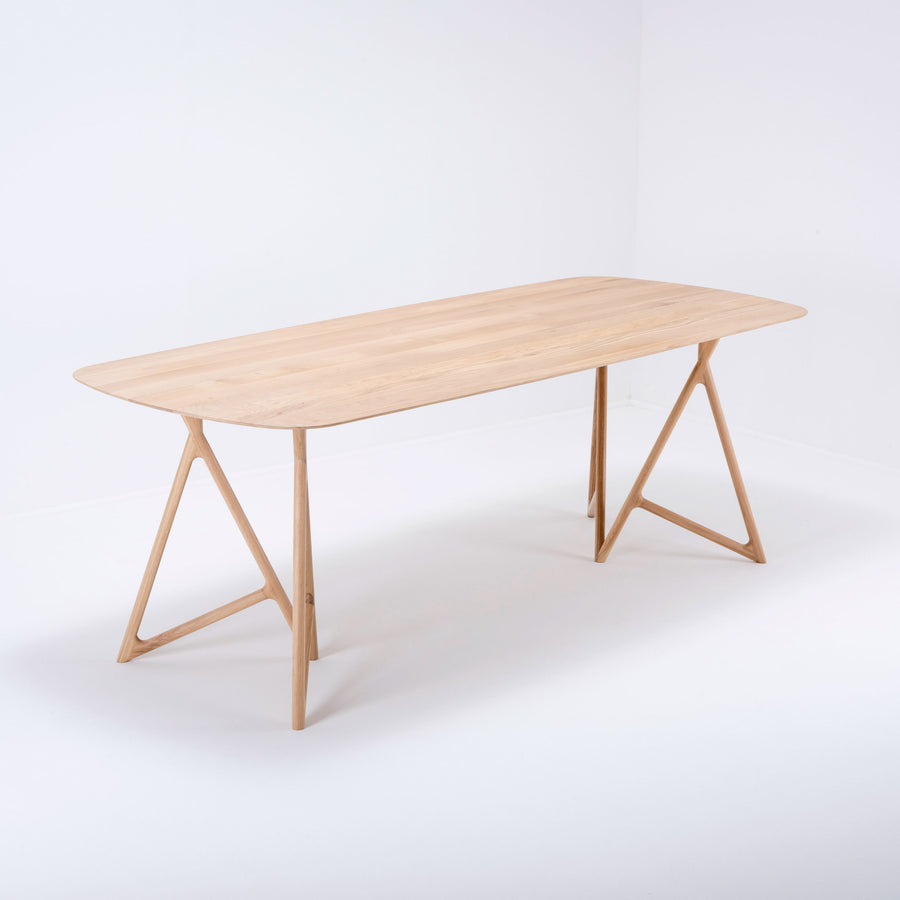 Koza Table in Solid Oak