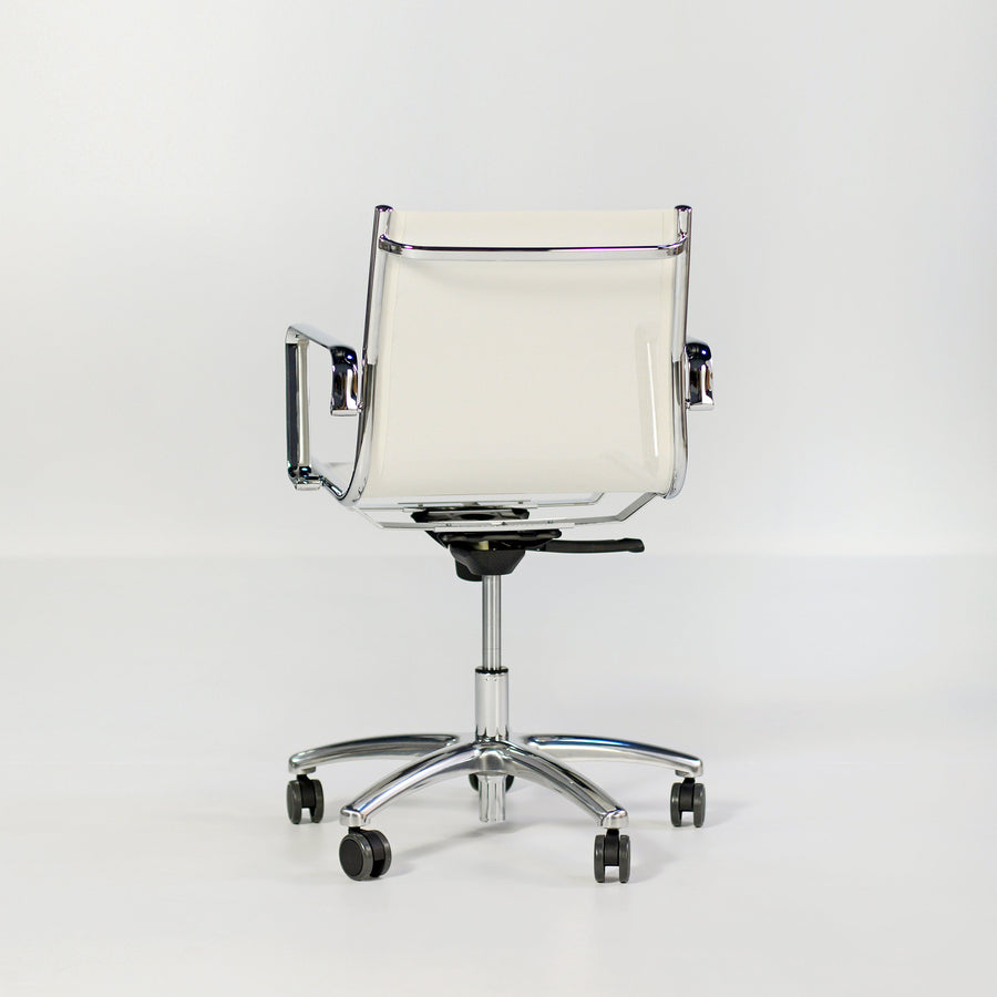 Light, Mesh Shell, Medium Back Armchair