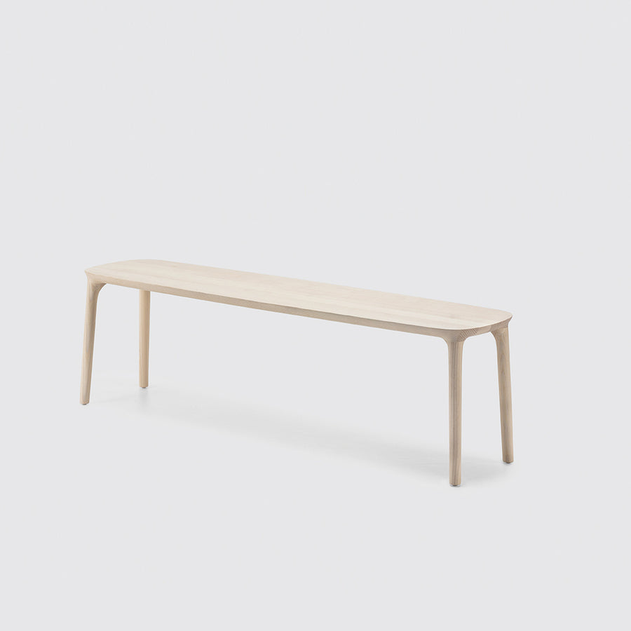 MS&Wood Elle Bench in solid wood | Spencer Interiors