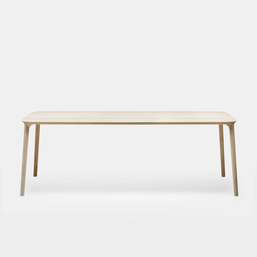 MS&Wood Elle Table in solid wood, 220 cm side | Spencer Interiors
