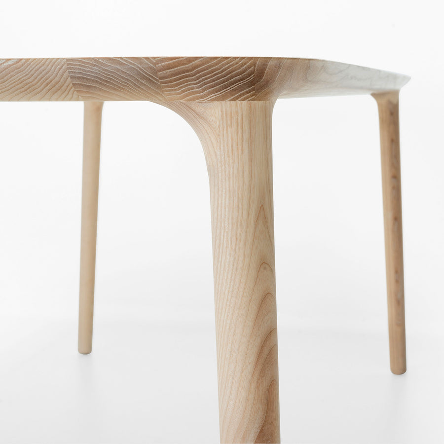 MS&Wood Elle Table in solid wood, detail | Spencer Interiors