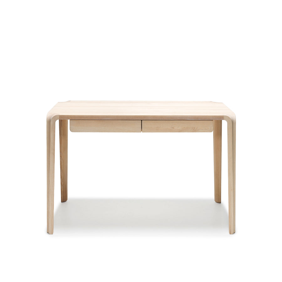 MS&Wood Primum Desk in solid wood, front | Spencer Interiors