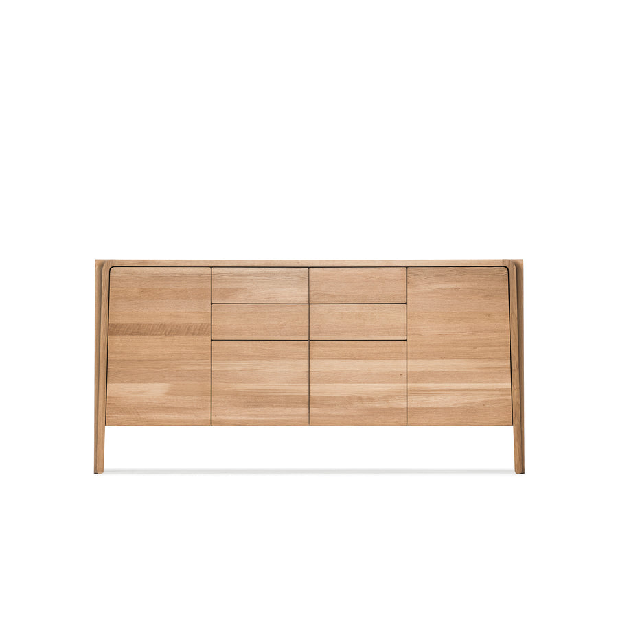 MS&Wood Primum Sideboard in solid Oak, front | Spencer Interiors