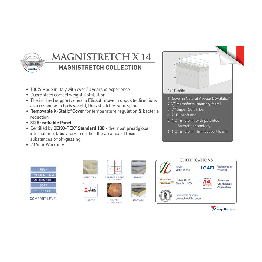 Magnistretch X 14, Medium Soft